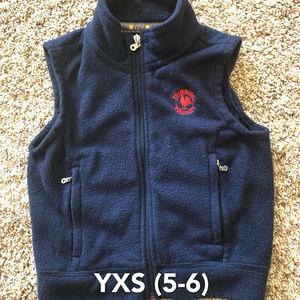 Primrose Dennis Uniform Fleece Vest YXS